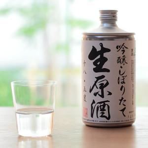 生缶 鳴門鯛しぼりたて生原酒