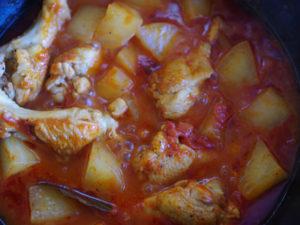 酒粕トマト煮込み