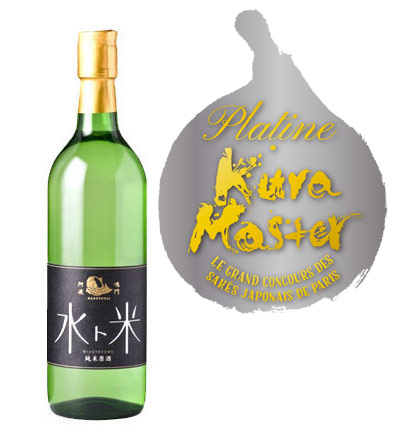 純米酒部門でプラチナ賞トップ5